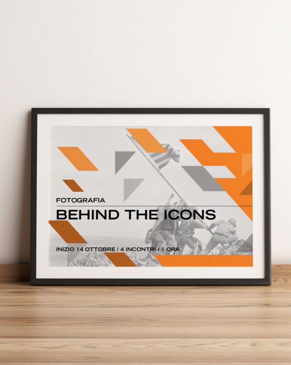 BEHIND THE ICONS